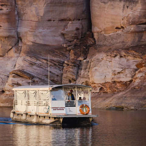 Antelope Point Marina Boat Tour Lake Powell