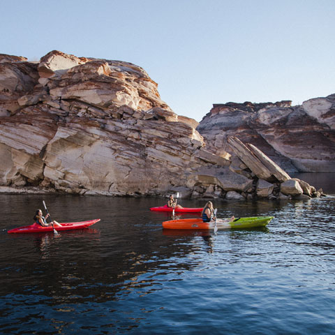 Antelope Point Marina Kayak Tour Lake Powell