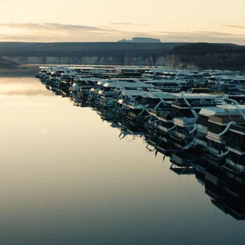 Antelope Point Marina Houseboats on Lake Powell