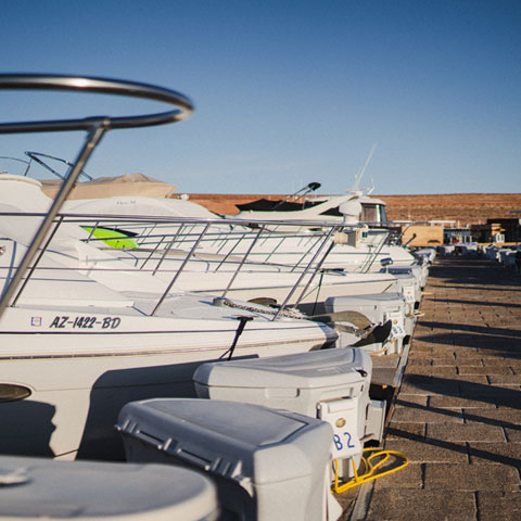 Overnight Slip Rentals at Antelope Point Marina Lake Powell