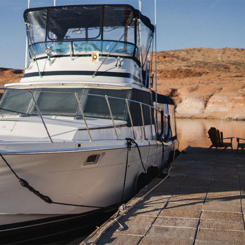 Overnight Slip Rental at Lake Powell Antelope Point Marina