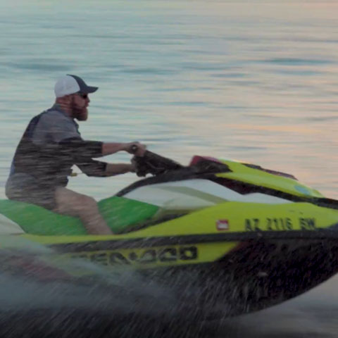 Sea Doo on Lake Powell