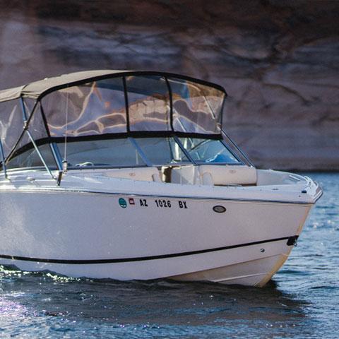 Cobalt Boat Lake Powell Charter