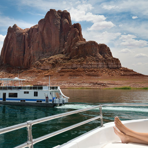 Antelope Point Houseboat Rental on Lake Powell